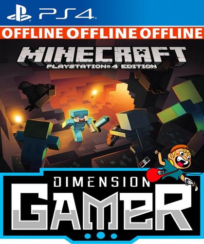 minecraft ps4 no codigo offline