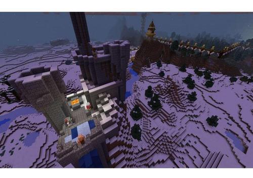 minecraft starter collection ps4 mídia física novo original