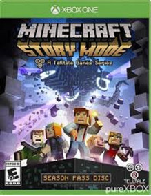 Minecraft Story Mode A Telltale Games Series - Xbox One Novo