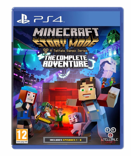 minecraft story mode complete adventure playstation 4 nuevo