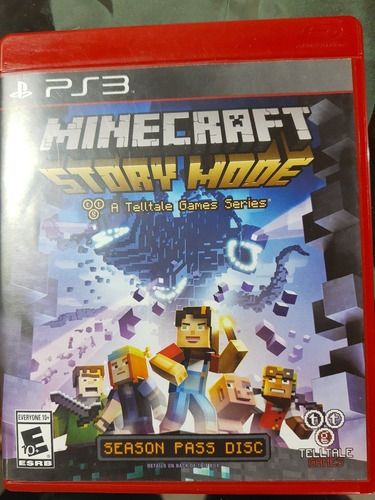 minecraft story mode ps3 fisico