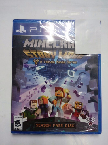 minecraft story mode.-ps4