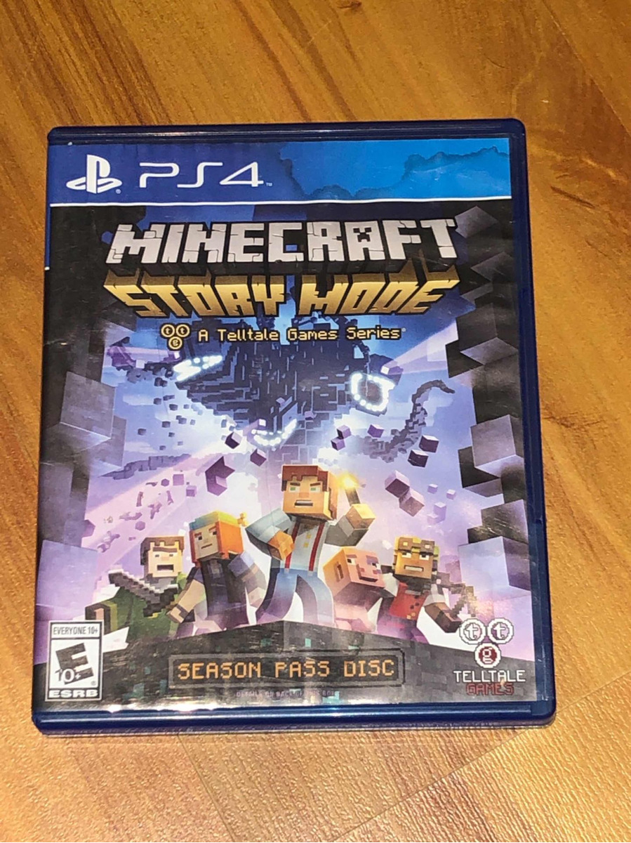 Minecraft Story Mode Ps4 Físico - $ 700,00