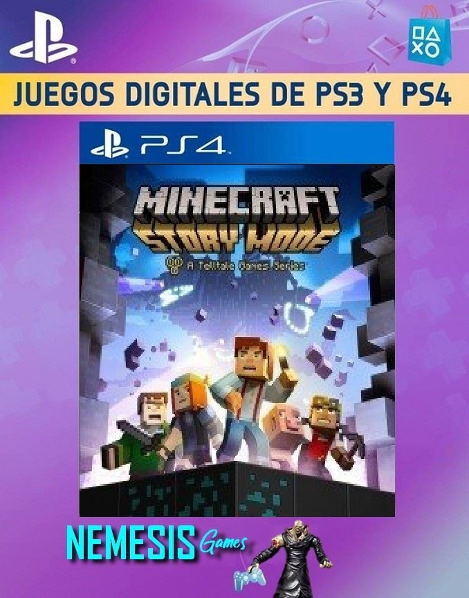 Minecraft Story Mode Ps4 No Va