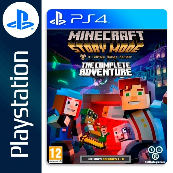 Minecraft Story Mode Ps4 Temp 1 Completa Rapido |2|
