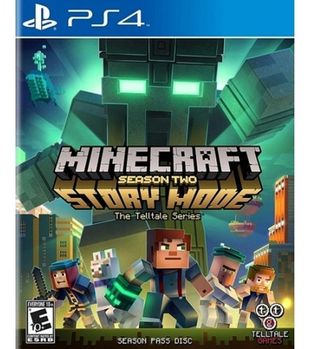 minecraft story mode season 2 ps4 físico sellado envío grat