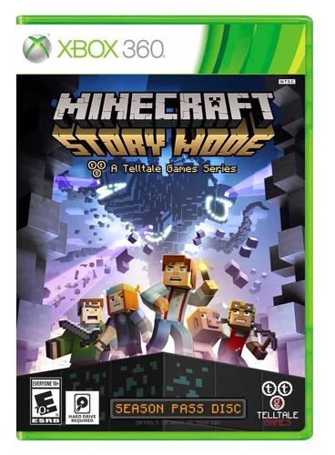 minecraft: story mode - season disc - xbox 360