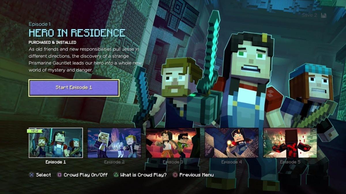 Minecraft Story Mode Season Two Xbox 360 Nuevo 599 00 En