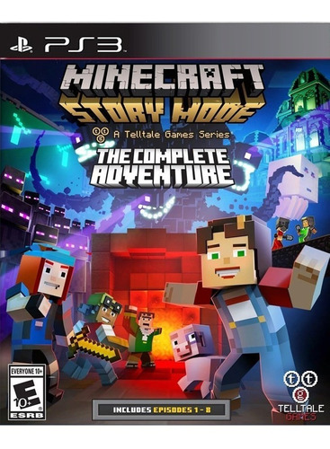 minecraft : story mode the complete adventure nuevo y sellad