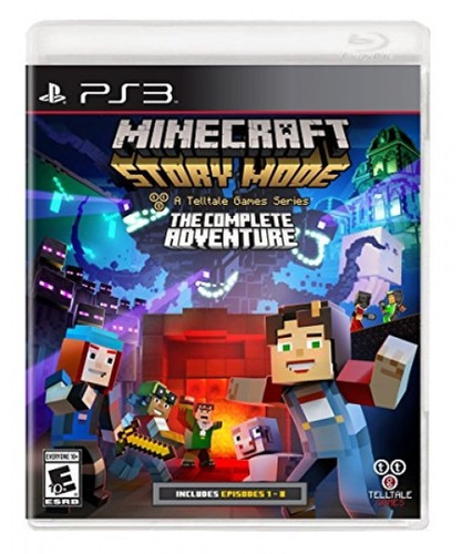 minecraft: story mode- the complete adventure - playstati