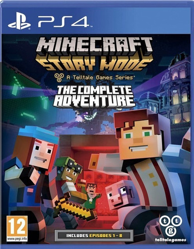 minecraft story mode the complete adventure ps4 disco fisico
