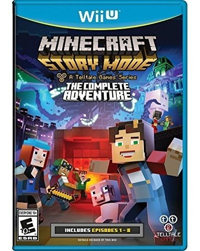 minecraft: story mode the complete adventure wii u