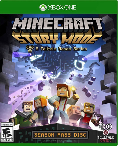 minecraft: story mode xbox one - juego fisico - prophone