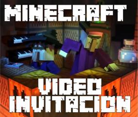 Tarjetas Invitacion Minecraft Invitaciones Y Tarjetas En