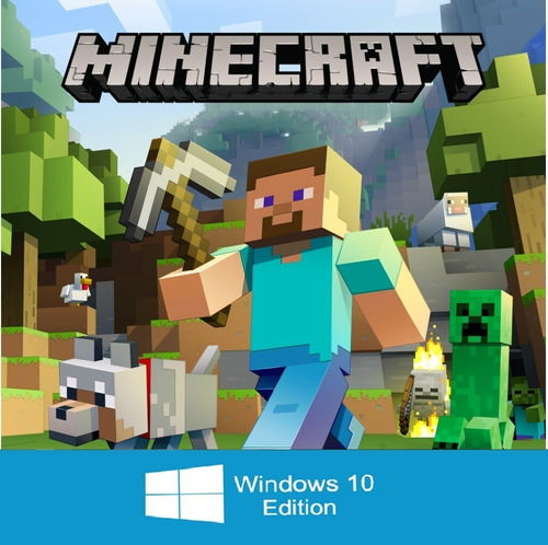 minecraft windows 10 edición - key (entrega rápida)