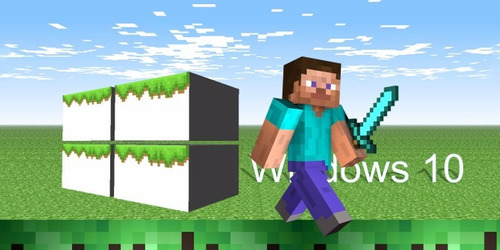 minecraft windows 10 edition, sólo para windows 10