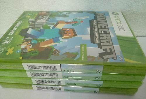 minecraft xbox 360 edition novo original lacrado rj c/nf