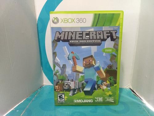 minecraft: xbox 360 edition - xbox 360 fisico usado.