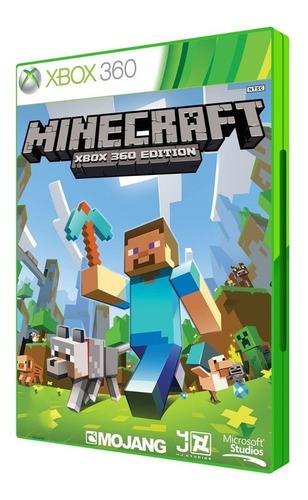 minecraft xbox 360 original mídia fisica game lacrado novo
