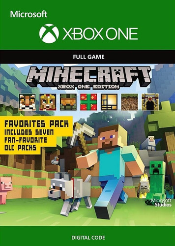 minecraft: xbox one edition favorites