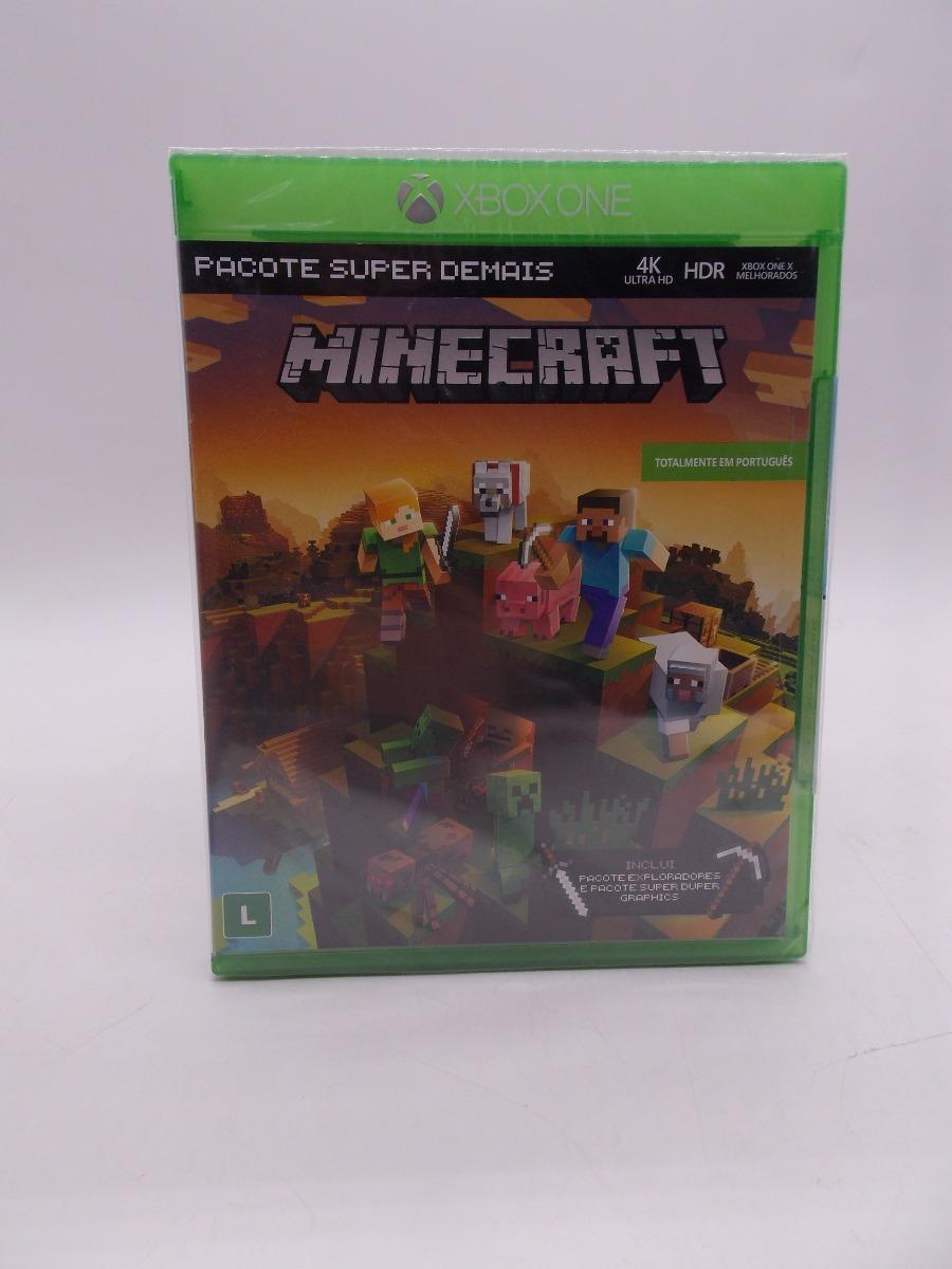 Minecraft Xbox One Original Mídia Física