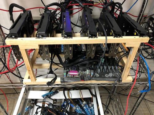 mineradora ethereum 6 gpu rx570 8gb - bitcoin, rig mineração