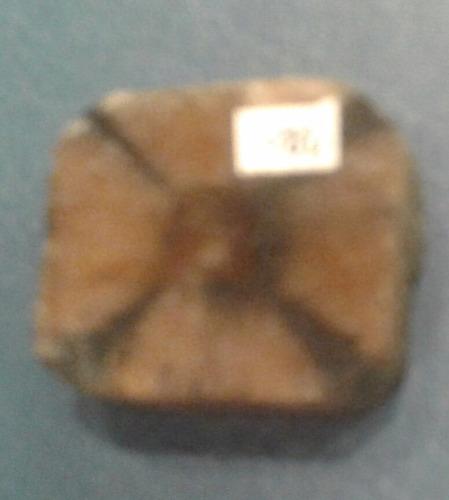 mineral piedra de la cruz quiastolita