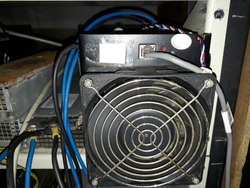 minero bitcoin antminer s5 en 35vde con fuente 1.14th
