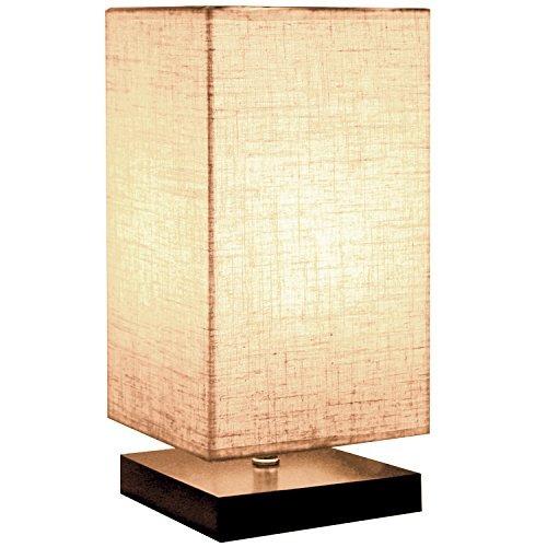 minerva lámpara minimalista sólida mesa de madera, lámpa