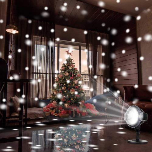 Rotating Led Snowfall Projection Lamp