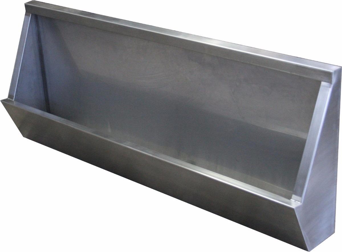 Mingitorio acero inoxidable 190x30x56 cm en hermosillo for Brochetas de acero inoxidable
