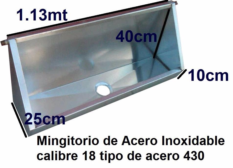 Mingitorios de acero inoxidable 2 en mercado libre for Percheros de acero inoxidable