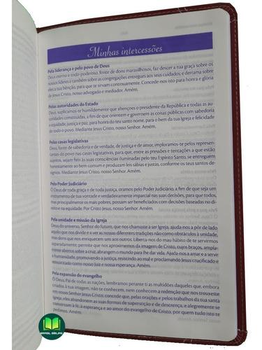 minha bíblia de oração bíblia de estudo feminina / masculina