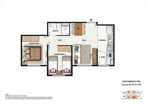 minha casa minha vida morumbi - 2dorms com vaga - lazer completo - ap11776