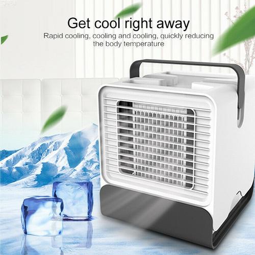 mini acondicionador de aire fresco ventilador de refrigeraci