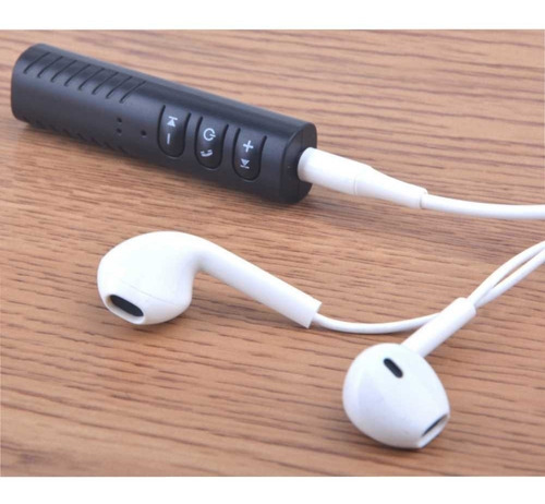 mini adaptador bluetooth música 3.5mm para carro y otros