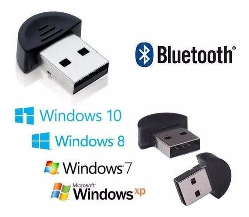 mini adaptador bluettoth dongle usb v2.0 - original/embalado