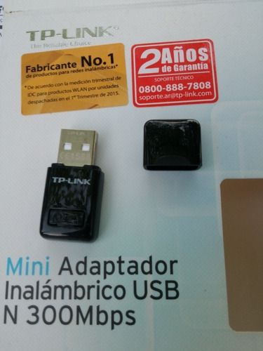 mini adaptador inalambrico usb n 300mbps tp-link