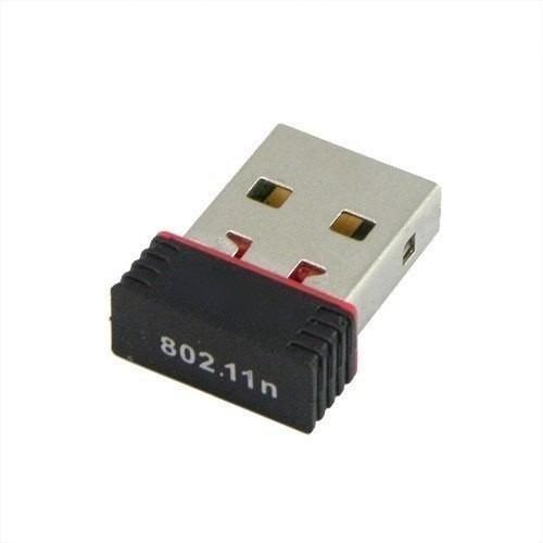mini adaptador receptor wireless usb mini nano 150mbps