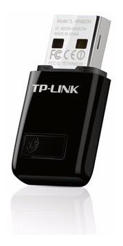 mini adaptador usb inalámbrico n de 300mbps (tl-wn823n)