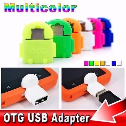 mini adaptador v8 micro usb otg - modelo android fr. grátis