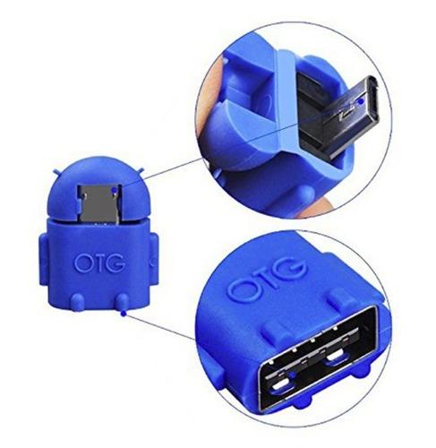 mini adaptador v8 para micro usb otg - modelo android