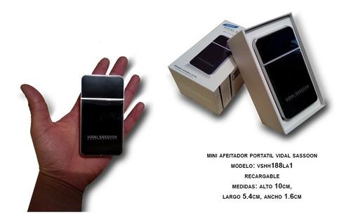 mini afeitador portatil vidal sassoon