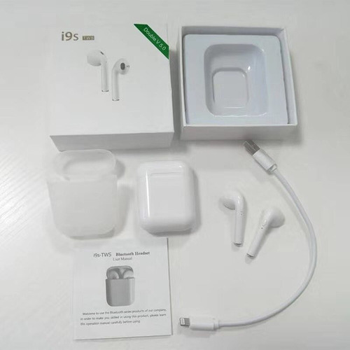 mini airpods i9s tws audifonos bluetooth 5.0 ultima version