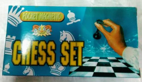 mini ajedrez magnético de bolsillo juguete niños adultos bmg