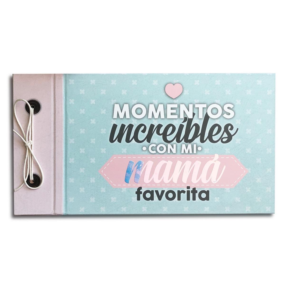 6014bc4af Mini Album Para Fotos Mamá- Mod Momentos Increíbles -   369.00 en ...