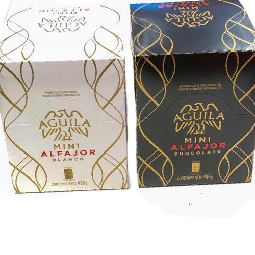 mini alfajor aguila (caja x20un) - barata la golosineria