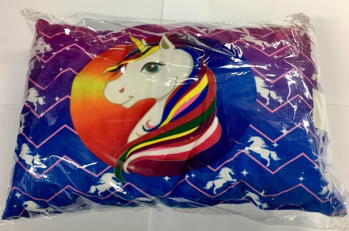 824b57419 mini almofada decorativa colorida unicornio infantil. Carregando zoom.