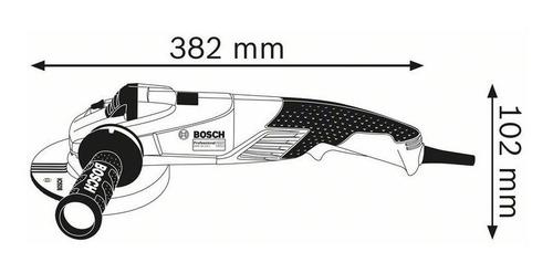 mini amoladora angular bosch 125mm gws 18-125 1800w