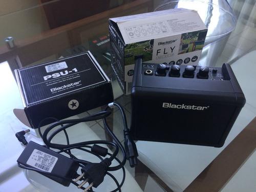 mini amplificador blackstar fly 3 (com cxs e acessórios)
